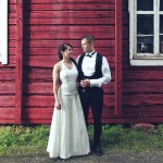Handmade wedding dress