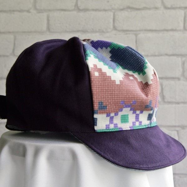 newsboy hat aztek pattern